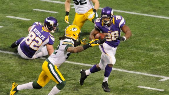 Adrian Peterson: 'In my heart, I'm the MVP'