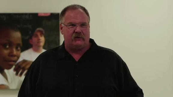 Video - Andy Reid Wishes Eagles Good Luck