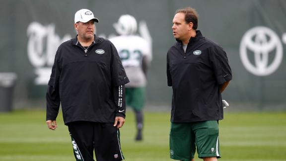 Jets fire GM Tannenbaum but Ryan to keep job