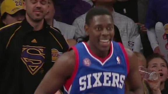 Video - 76ers Push Lakers Below .500