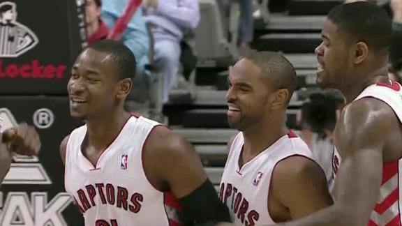 Video - Ross Propels Raptors To Eighth Win In Nine Games