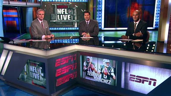 Video - NFL Live OT: Future Of Sanchez, Tebow