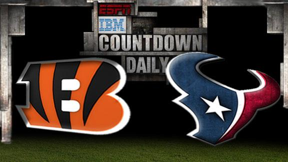 Video - Countdown Daily Prediction: Bengals-Texans