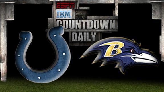 Video - Countdown Daily Prediction: Colts-Ravens