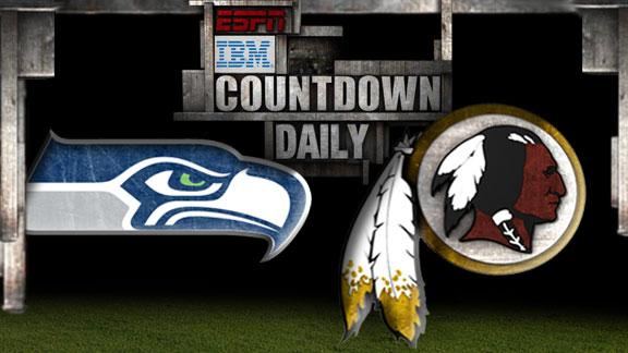 Video - Countdown Daily Prediction: Seahawks-Redskins
