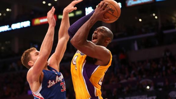 Clips' Crawford (foot) out against rival Lakers
