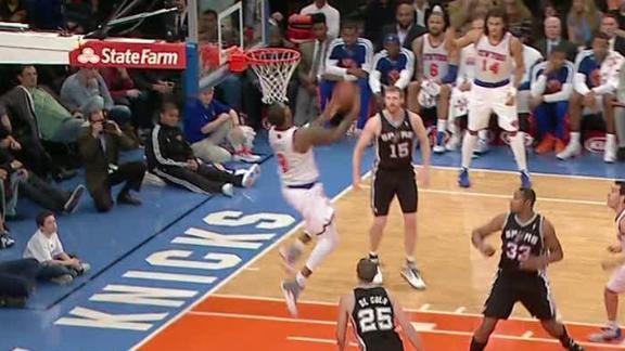 Video - Knicks Snap Spurs' Seven-Game Streak