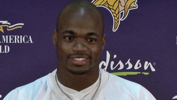 Vikings' Peterson wants to play special teams