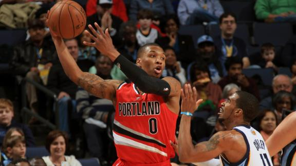 Video - Trail Blazers Hold Off Grizzlies