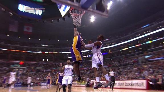 Video - Kobe Dunks On Chris Paul