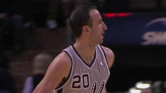 Parker, Spurs rebound with drubbing of Sixers