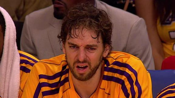 Video - Pau Gasol's Role With The Lakers