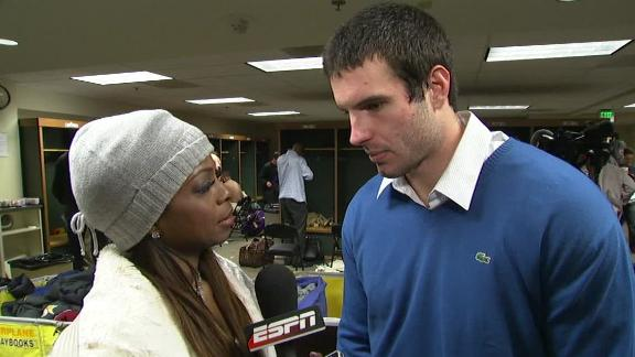 Video - Christian Ponder Disappointed