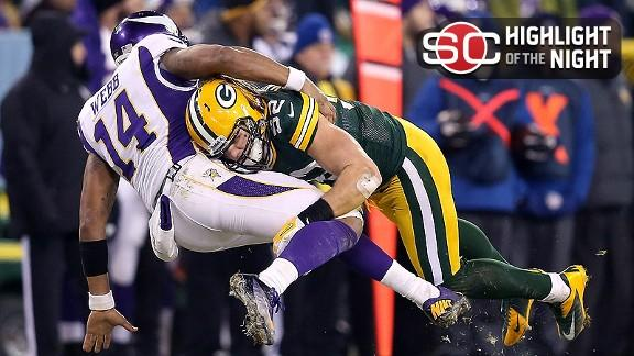Video - Packers Outclass Ponder-less Vikings