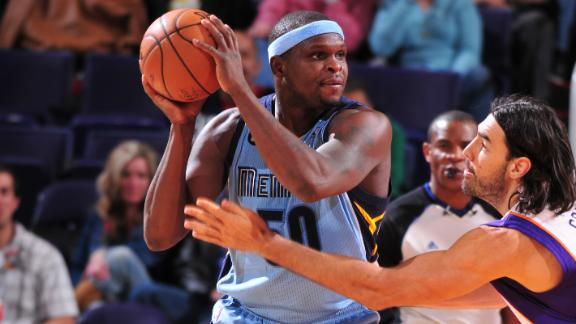 Randolph's hot shooting leads Grizzlies by Suns