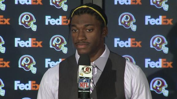 Video - RG III On Injury