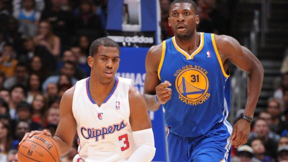 Clips slam Warriors for 12th straight home win