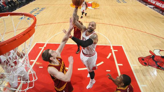 Boozer drives Bulls' drubbing of Cavaliers