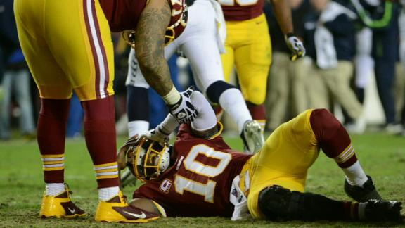 Video - Robert Griffin III Will See Dr. Andrews For Further Examination