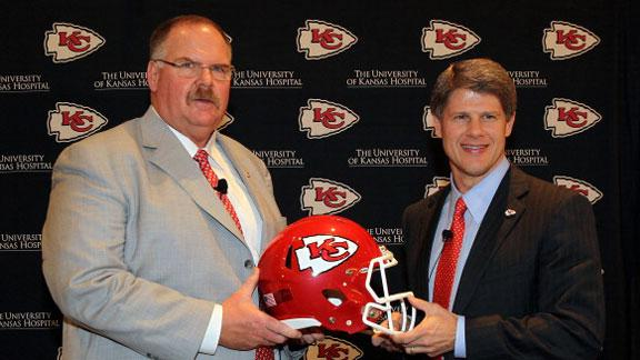 Reid: Chiefs fans 'deserve winning football'