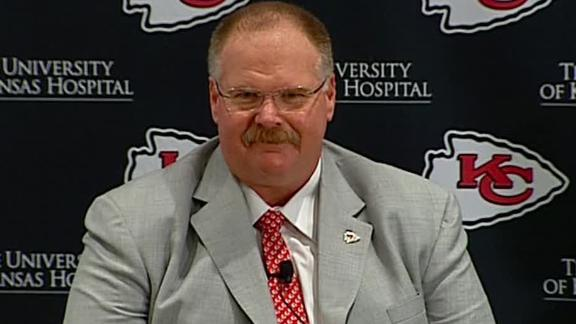 Video - Chiefs Introduce Andy Reid