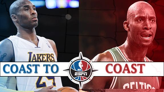 Coast to Coast - Los Angeles Lakers and Boston Celtics issues