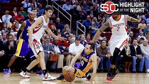 Video - Rockets Fly By Lakers, 125-112