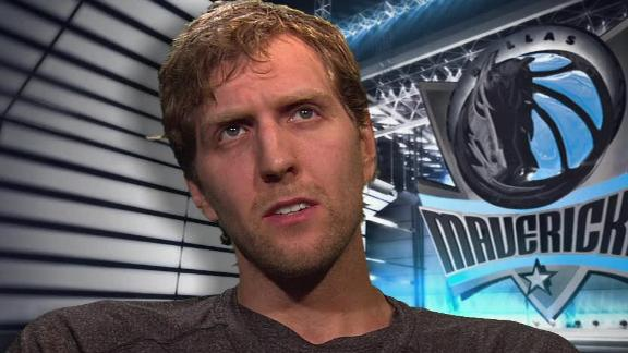 Video - Dirk Nowitzki Talks Mavericks' Basketball
