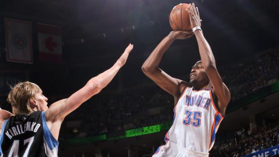 Video - Thunder Overwhelm Timberwolves