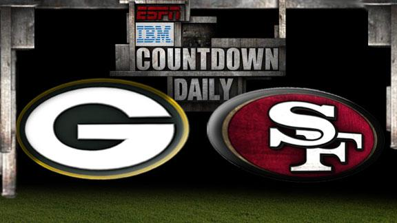 Countdown Daily: Predicting Packers-49ers