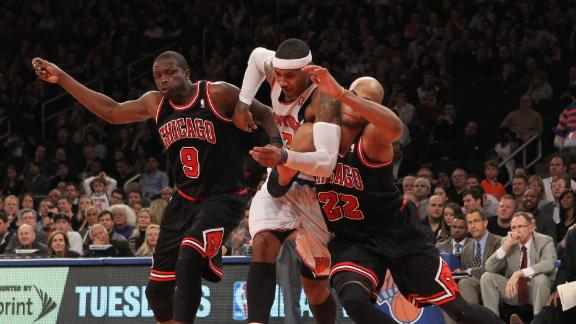 Deng scores 33 as Bulls stay perfect vs. Knicks