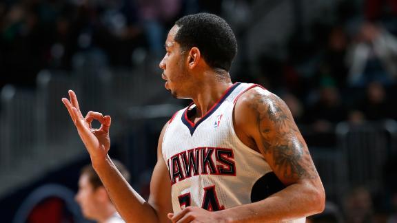 Video - Harris Helps Hawks Top Former Team