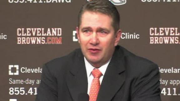 Video - Rob Chudzinski Excited