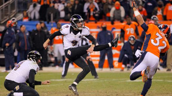 Video - Ravens Defeat Broncos In 2OT