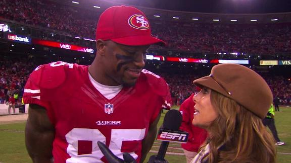 Video - Vernon Davis After 49ers' Win