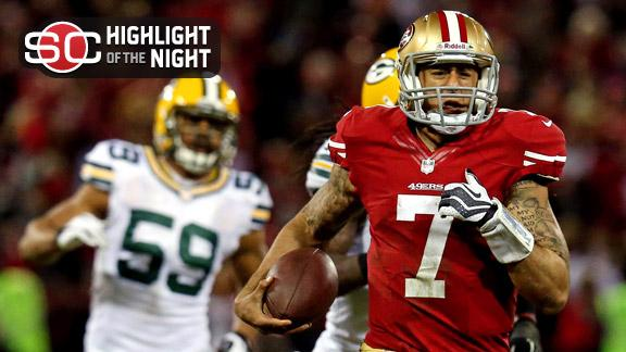 Video - Kaepernick's Record Night Ousts Packers