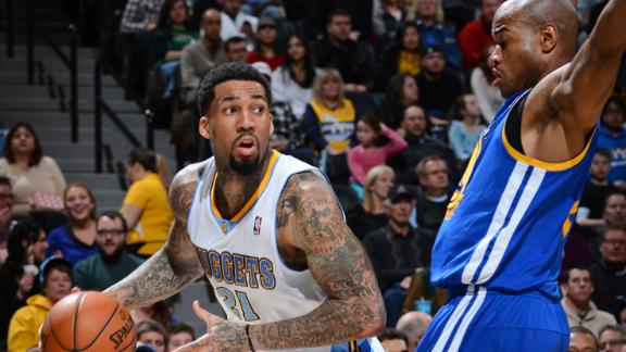 Nuggets use late run to race past Warriors