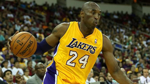 D'Antoni: Kobe to take on bigger defensive role