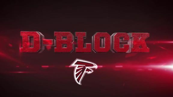 Video - Inside The Falcons' D-Block