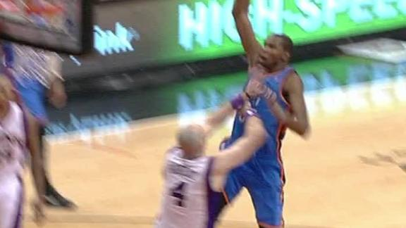 Video - Durant Dunks On Gortat