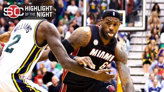 Video - LeBron Closer To 20,000