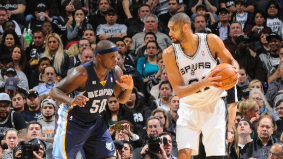 Video - Spurs Fight Off Grizzlies