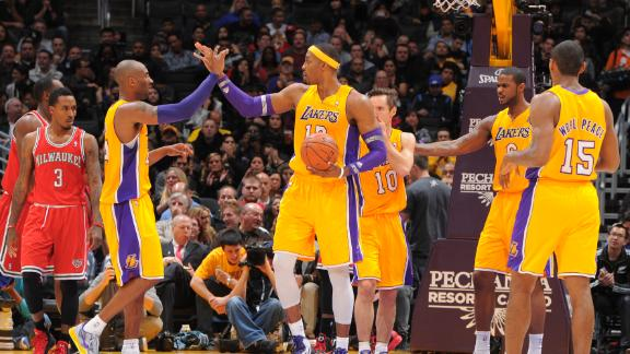 Video - Lakers Roll To Second Straight Win