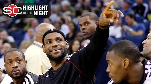 Video - LeBron Youngest To 20,000 Points