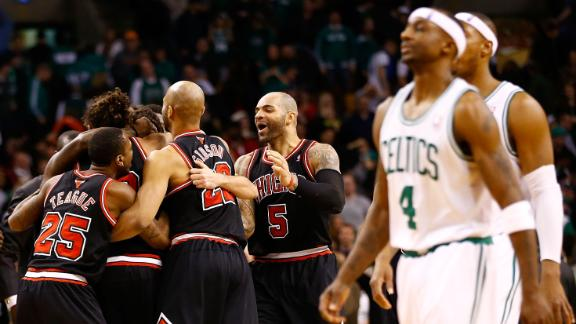 Video - Belinelli, Bulls Sink Celtics In OT