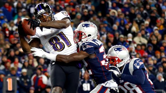 Ravens top Pats, set all-Harbaugh Super Bowl