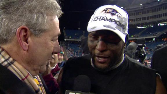 Video - Ray Lewis Discusses Win