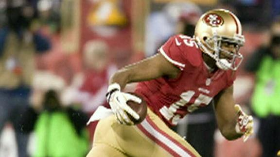 Source: Charge unlikely for 49ers' Crabtree