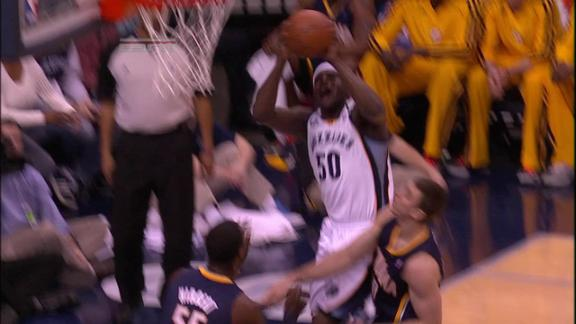 Video - Zach Randolph Bucket and The Foul