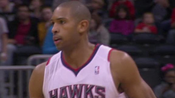 Horford, Hawks get back on winning track